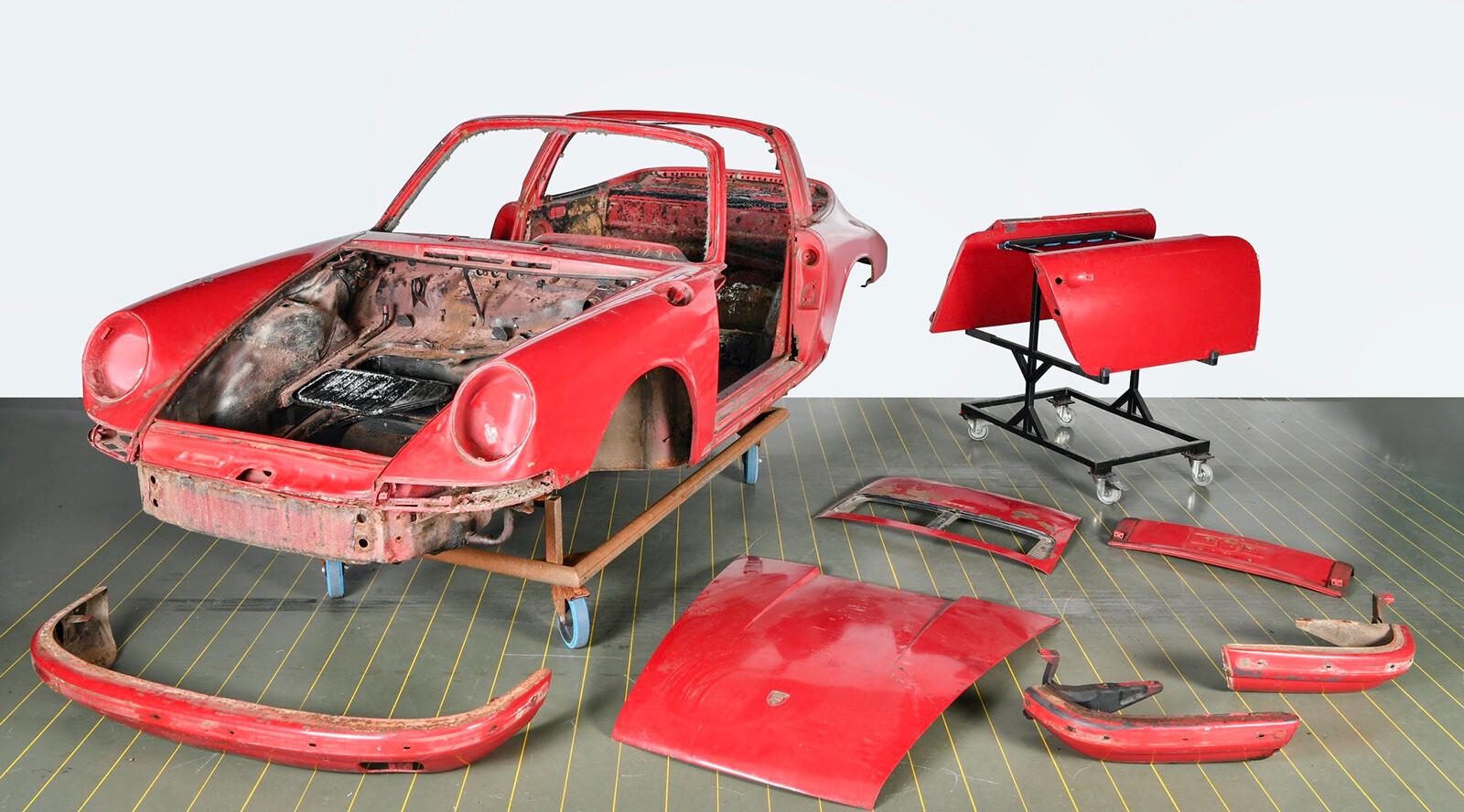 El Porsche 911 S Targa de 1967 restaurado por Porsche Classic