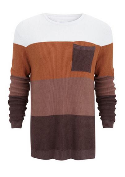 Suiteblanco jersey tonos marrones Primavera 2013