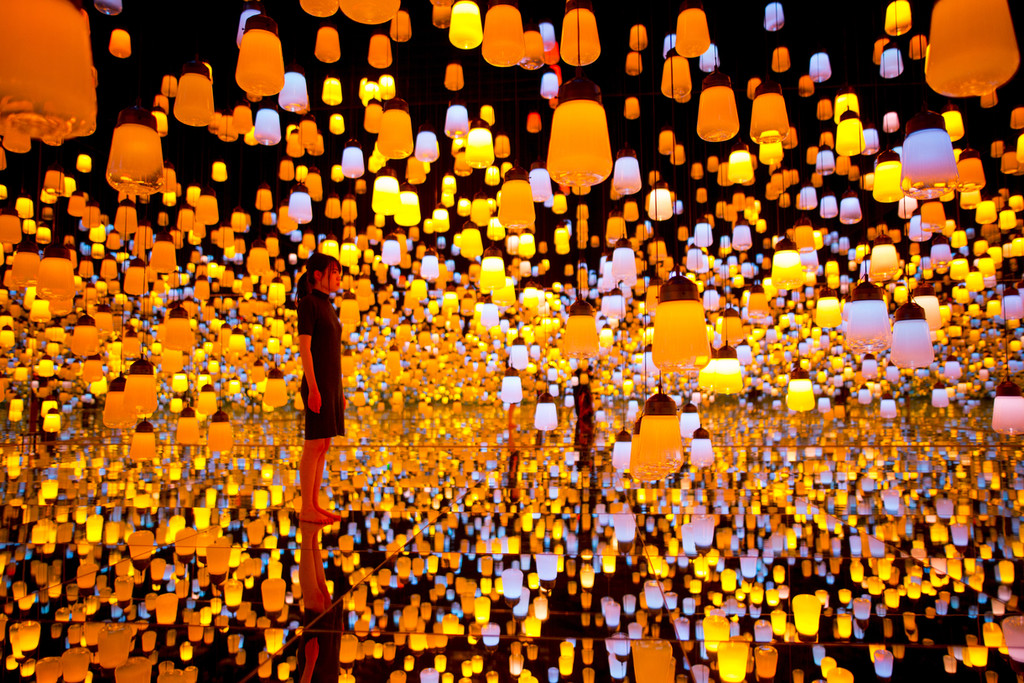 Forest Of Resonating Lamps 08