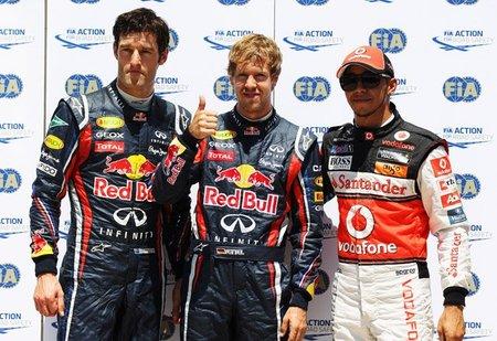 Enésima pole position de Sebastian Vettel
