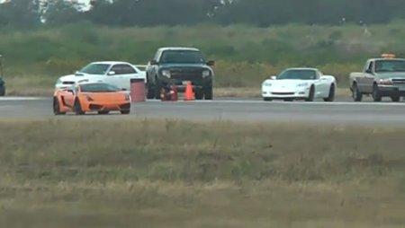 Hay gente con mucha suerte edición XXVIII: Lamborghini Gallardo