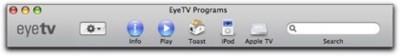 EyeTV 2.4 con soporte para el AppleTV