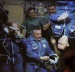 Cena gourmet a bordo de la Estación Espacial Internacional