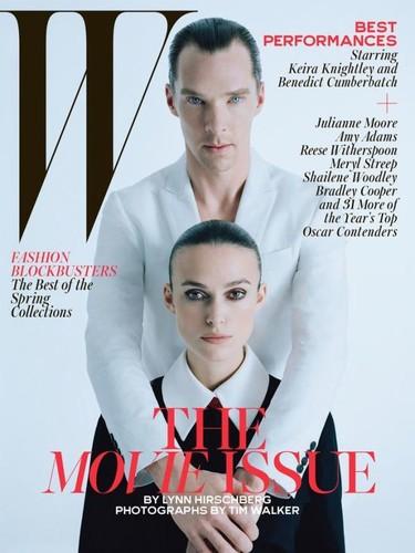 Pedazo numerón el de febrero de W Magazine, ¡chapó!