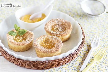 Financiers con lemon curd: receta francesa con un toque cítrico especial