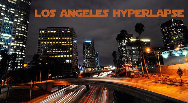 """""""Los Angeles Hyperlapse"""", un timelapse para descubrir la noche de la ciudad de Los Ángeles"""