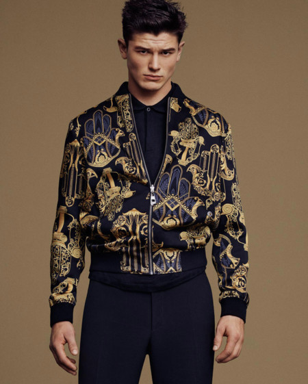 Jevan Williams Versace Collection Spring Summer 2016 Lookbook 008