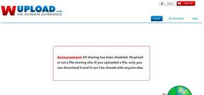 FileServe y Wupload restringen la descarga de archivos tras las amenazas de Paramount Pictures