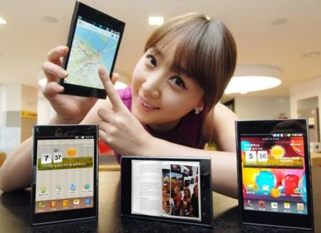 LG Optimus Vu es oficial, competencia para el Samsung Galaxy Note