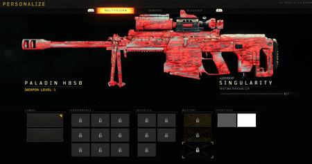 Black Ops 4 Camuflaje Materia Oscura