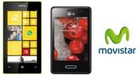Precios Nokia Lumia 520 y LG Optimus L3 II con Movistar
