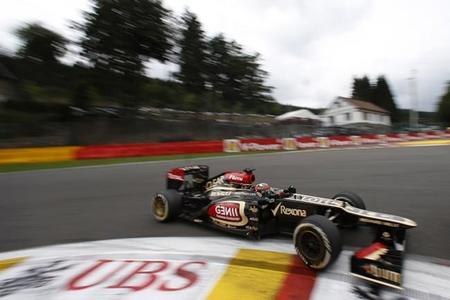 La racha de Kimi Räikkönen llega a su fin en Bélgica