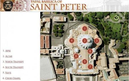 Tour virtual por la Basílica de San Pedro