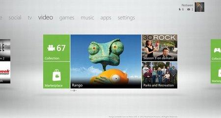 Nuevo vídeo filtrado del dashboard de la Xbox 360 tras la próxima actualización de otoño