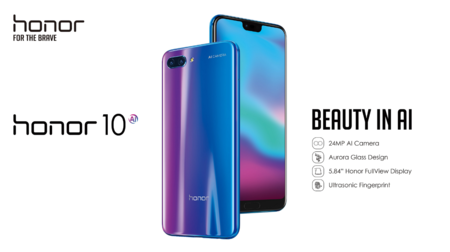 Huawei Honor 10 a precio de Black Friday en Amazon: 299,90 euros