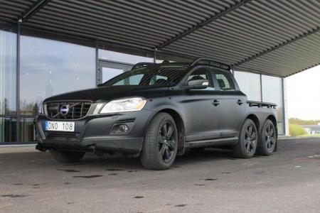 ¿Trabaja Volvo en un XC60 6x6?