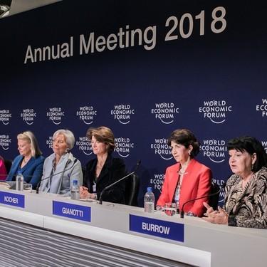 Estas siete mujeres dirigen el Foro Económico Mundial de Davos: ¿quién es quién?