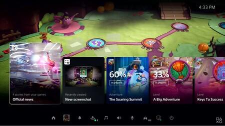 Sony Revela Nueva Interfaz Usuario Ps5