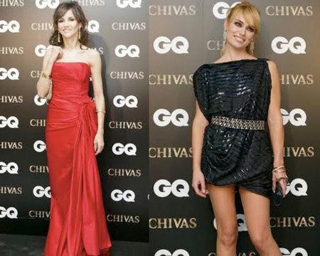 Las invitadas a los Premios Hombre GQ 2009