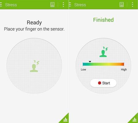 Samsung Health ahora con datos en nivel de stress