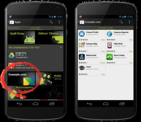 Google Play empresas