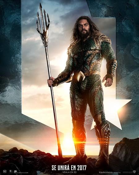 Aquaman Poster Liga De La Justicia