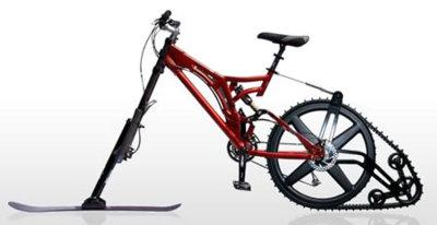 KTrak: creando la bici-nieve