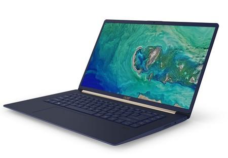 La apuesta de Acer por portátiles incluye al Swift 5 y a un llamativo elenco de Chromebooks