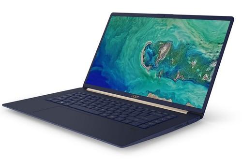 El nuevo Acer Swift 5 se apunta a las pantallas casi sin marcos y sorprende por su ligereza