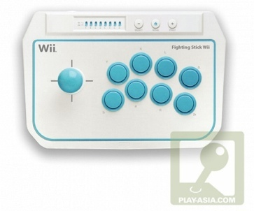 Hori Fighting Stick, controlador de recreativa para la Wii