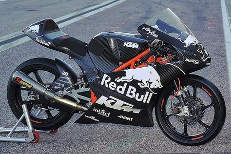 KTM Moto3, carbono puro y duro