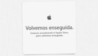 """It's almost here"", Apple Stores cerradas"