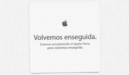 """It's almost here"", Apple Stores cerradas"