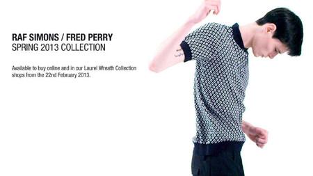 Raf Simons para Fred Perry primavera-verano 2013: nuevos detalles a pocos días del lanzamiento