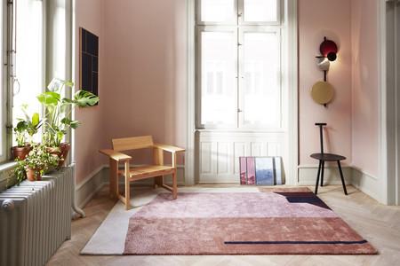 Alfombras con un diseño muy arquitectónico para tus suelos o ¿por qué no? para lucir en las paredes