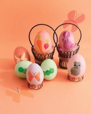 Foto de Huevos de Pascua decorados (4/6)