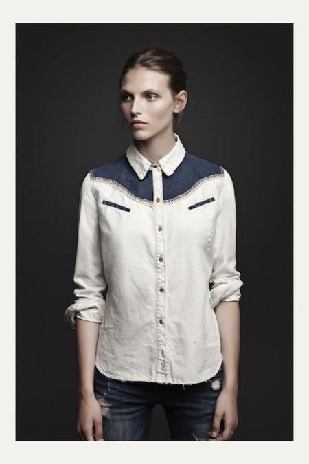 Zara TRF lookbook septiembre 2012: un mundo donde las jóvenes visten con clase y gusto