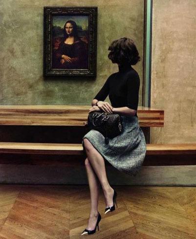 La enigmática Arizona Muse nos invita a viajar con Louis Vuitton