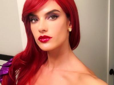 ¿Sin disfraz para la fiesta de Halloween?: Alessandra Ambrosio te puede servir de inspiración