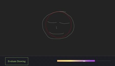 Dibuja un círculo y comprueba cuánto se parece a un círculo perfecto