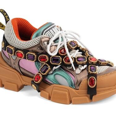 Deportivas con joyas: esta es la propuesta de Gucci que no ha dejado indiferente a nadie