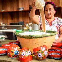 Ya empezó el 3er encuentro de cocineras tradicionales de Oaxaca y este año viene con mucho maíz criollo