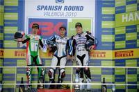 Superbikes Valencia 2010: Leon Haslam vence la primera carrera