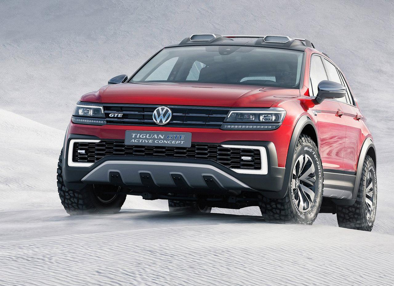 Foto de Volkswagen Tiguan GTE Active Concept (12/17)
