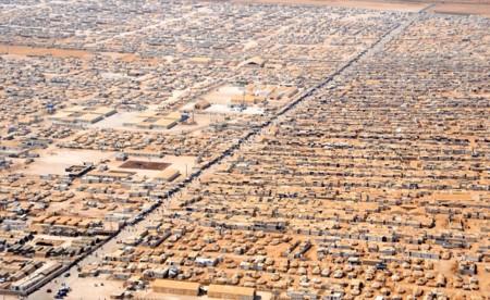 Campo de regfugiados de Zatari en Jordania