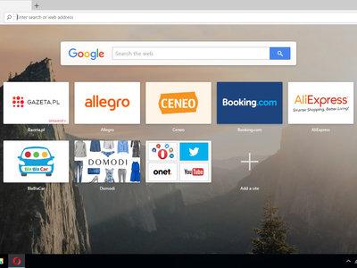 Opera incluye un conversor de divisas en su última versión
