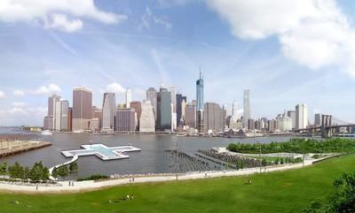 Nueva York tendrá una piscina dentro del East River