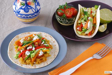 Tacos De Lentejas Al Curry