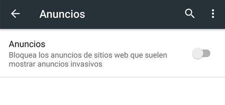 Cómo tener ya el nuevo bloqueador de anuncios de Chrome para Android