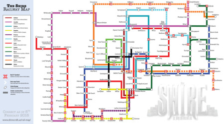 Theshiremap